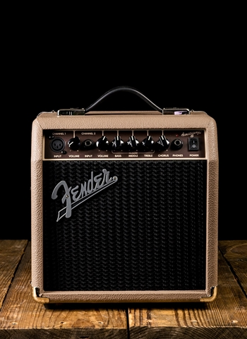 "Fender Acoustasonic 15 - 15 Watt 1x6"" Acoustic Guitar Combo - Wheat"