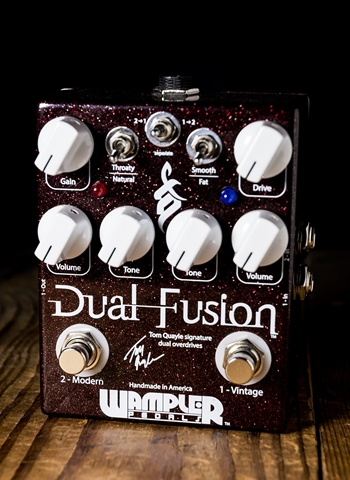 Wampler Dual Fusion Tom Quayle Signature Dual Overdrive Pedal