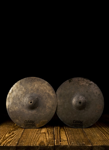 "Dream DMHH14 - 14"" Dark Matter Series Hi-Hats"