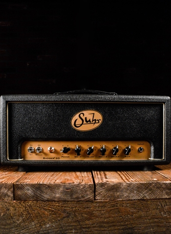Suhr Badger 30 Head - 30 Watt Guitar Head - Black