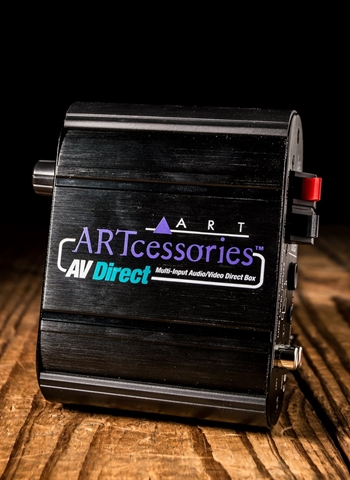ART AV Direct Audio/Video Direct Box