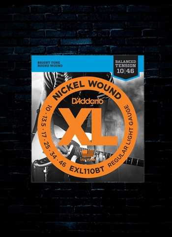 D'Addario EXL110BT XL Nickel Wound Strings - Balanced Tension Light (10-46)