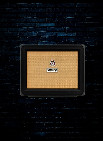 "Orange PPC112 - 60 Watt 1x12"" Guitar Cabinet - Black"
