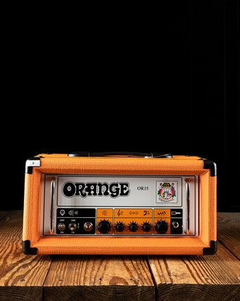 Orange OR15H - 7/15 Watt Guitar Head - Orange