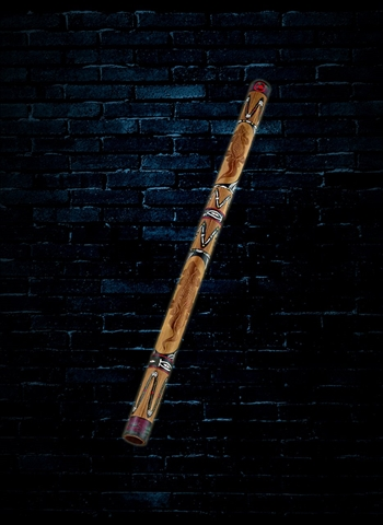 "Meinl DDG1-BR - 47"" Wood Didgeridoo - Brown"