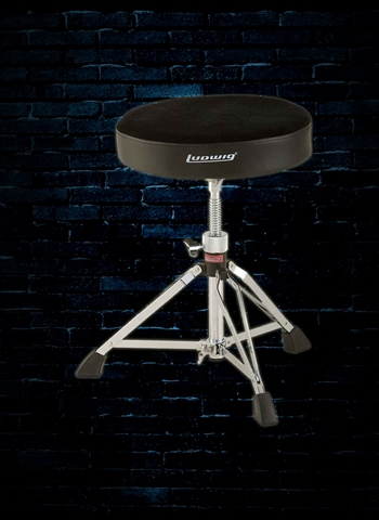 Ludwig L348TH Accent Pro Drum Throne - Round
