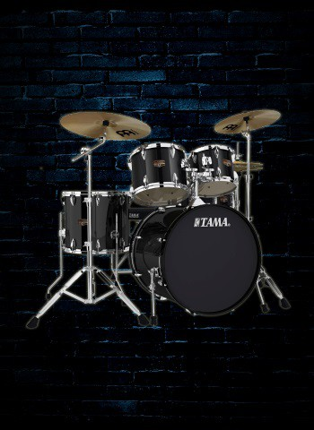 Tama IP52KC Imperialstar Series 5-Piece Drum Set - Black
