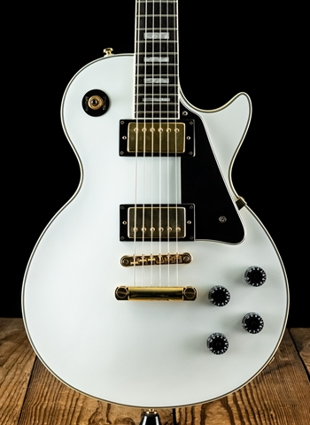 Epiphone Les Paul Custom  - White *USED*