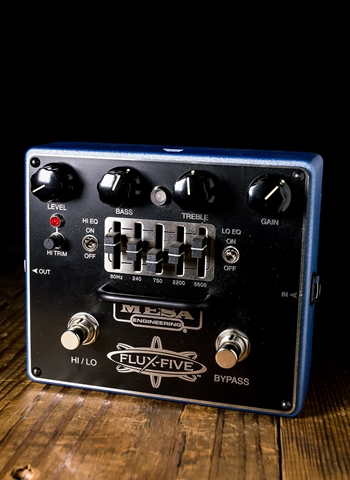 Mesa Boogie Flux-Five Overdrive with 5-Band EQ Pedal