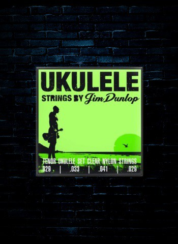 Dunlop DUY Clear Nylon Ukulele Strings - Tenor (29-29)