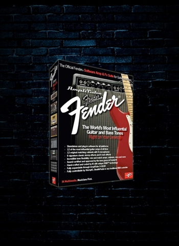 IK Multimedia AmpliTube Fender Guitar and Amp Effects Software (Download)