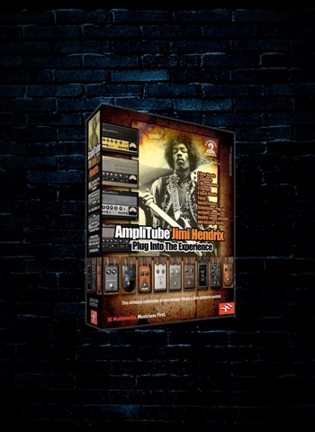 IK Multimedia AmpliTube Jimi Hendrix Guitar and Amp Effects Software (Download)