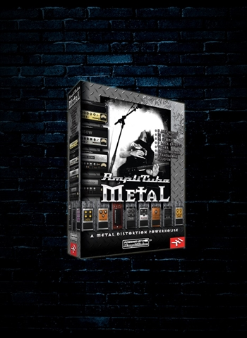 IK Multimedia AmpliTube Metal Guitar and Amp Effects Software (Download)