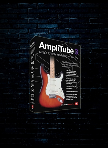 IK Multimedia AmpliTube 3 Guitar and Amp Effects Software (Download)