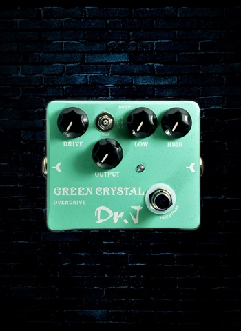 Dr. J D-50 Green Crystal Overdrive Pedal