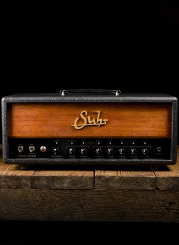 Suhr Hedgehog 50 - 50 Watt Guitar Head - Black