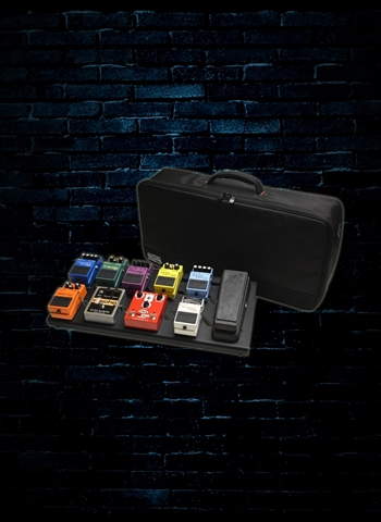 Gator GPB-BAK-1 Large Black Aluminum Pedalboard with Bag