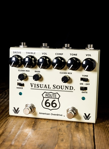 Truetone V3 Route 66 Overdrive and Compression Pedal