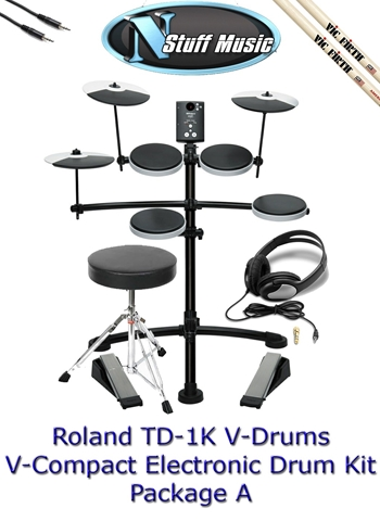 Roland TD-1K  V-Compact Drum Package A