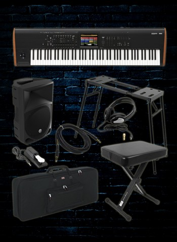 Korg KRONOS-88 Workstation Package C