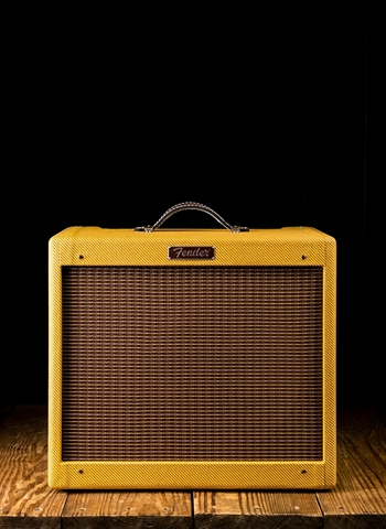 "Fender Blues Junior - 15 Watt 1x12"" Guitar Combo - Lacquered Tweed"