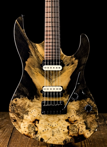Suhr Modern Custom Buckeye Burl Maple/Cocobolo - Natural