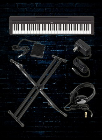 Yamaha P-45 Digital Piano Package A