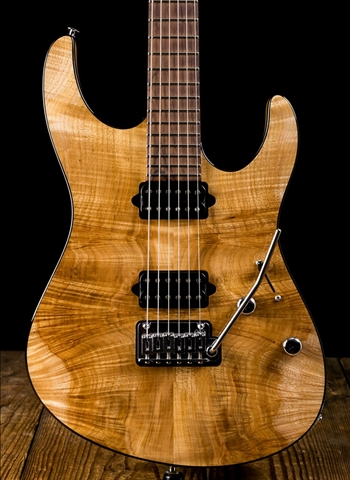 Suhr Modern Custom Waterfall Burl Maple/Mahogany - Natural
