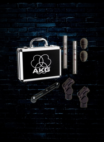 AKG C451 B Matched Pair Small Diaphragm Condenser Microphones