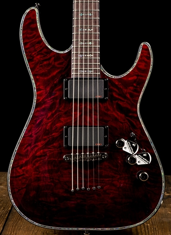 Schecter Hellraiser C-1 - Black Cherry