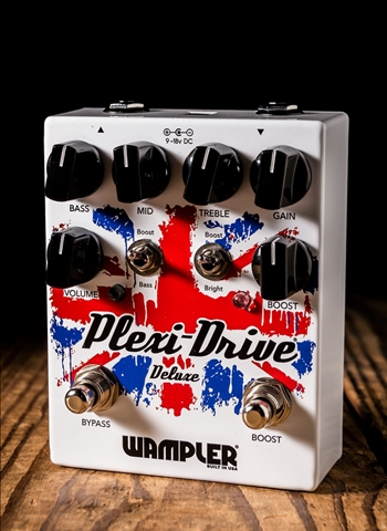 Wampler Plexi-Drive Deluxe Overdrive Pedal
