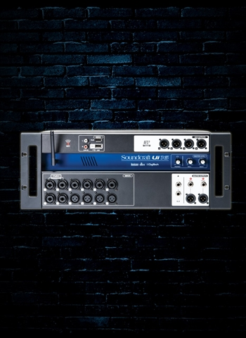 Soundcraft Ui16 - 16-Channel Digital Mixer