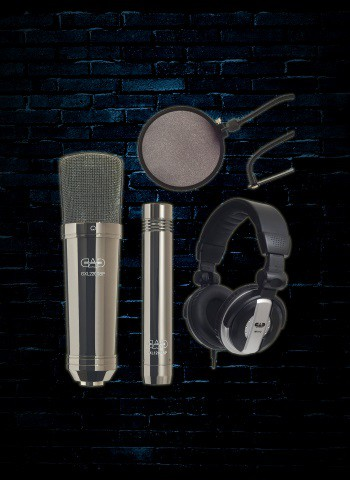 CAD GXL2200BPSP Condenser Microphone Studio Pack