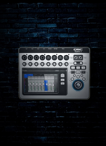 QSC TouchMix-8 - 14-Channel Compact Digital Mixer