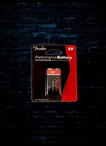 Fender Performance 9V Battery