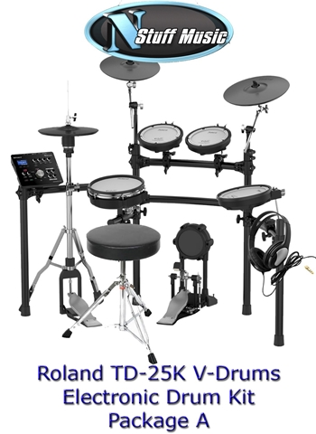Roland TD25K V-Drum Kit Package A