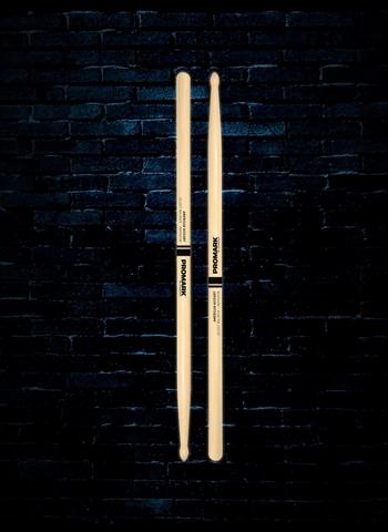"Promark RBH565TW Rebound 5A .565/"" Hickory Tear Drop Wood Tip Drumsticks"