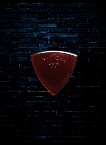 V-Picks 0.8mm Medium Pointed Ultra Lite Pick - Ruby Red