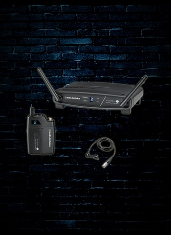 Audio-Technica ATW-1101/L Stack-Mount Digital Wireless System with Lavalier