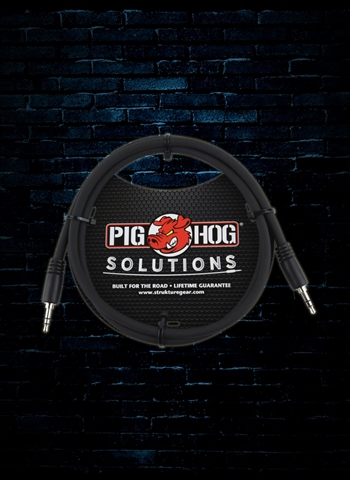 Pig Hog PX-T3503 3' 3.5mm TRS to 3.5mm TRS Adapter Cable