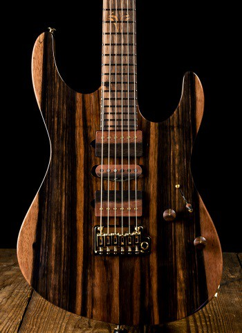 Suhr 2016 Modern Custom Macassar Ebony - Natural
