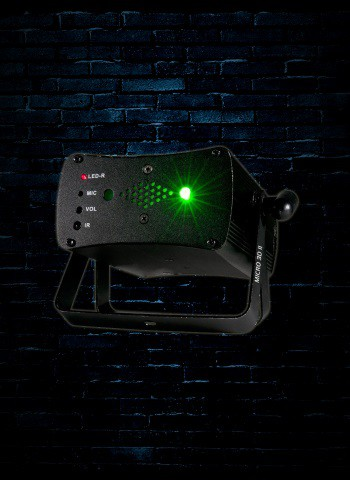 American DJ Micro 3D II - Green and Red Laser
