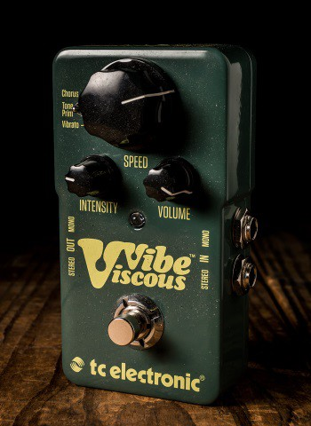 TC Electronic Viscous Vibe Vibrato Pedal