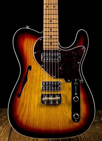Suhr Classic T Swamp Ash/Roasted Maple - 3-Tone Burst