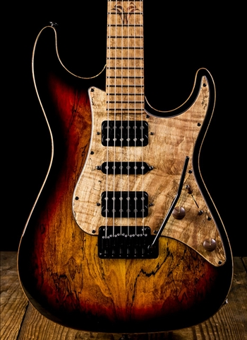 Suhr Standard Custom Spalt Maple - 3-Tone Burst