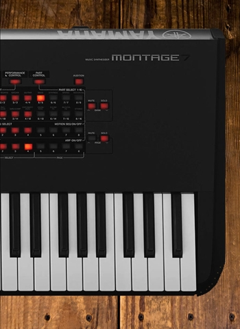 Yamaha MONTAGE7 - 76-Key Flagship Music Synthesizer