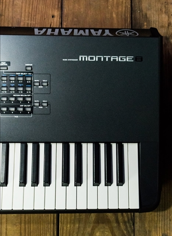 Yamaha MONTAGE8 - 88-Key Flagship Music Synthesizer
