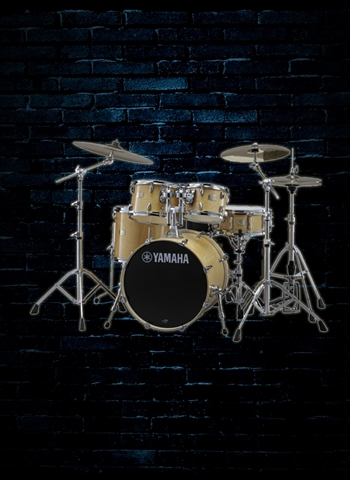 Yamaha SBP2F56W Stage Custom Birch Drum Kit - Natural Wood