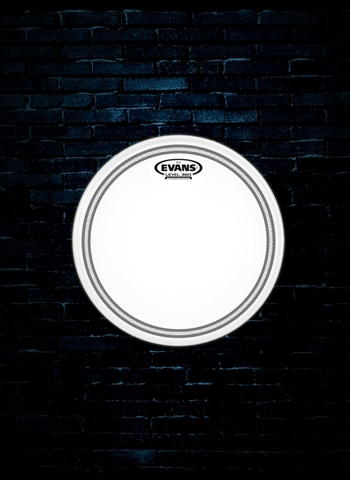 "Evans B16EC2S - 16"" EC2 Frosted Tom Drum Head"