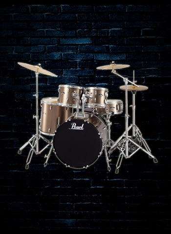 RS525SC/C Roadshow 5-Piece Drum Set - Bronze Metallic